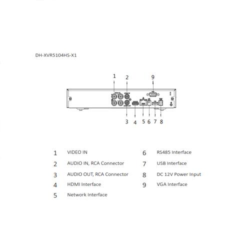 DH-XVR5104HS-X1